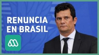 Brasil  Renuncia Ministro de Justicia Sergio Moro tras diferencias con Jair Bolsonaro