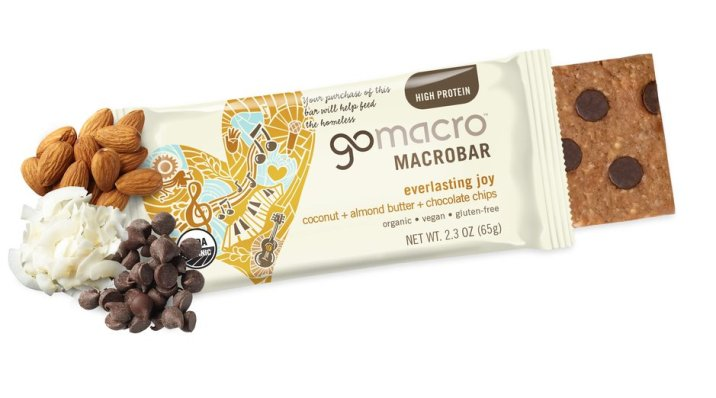 GoMacro Coconut Chocolate Chip Bar with Almond Butter