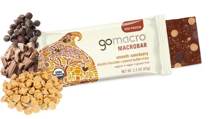 GoMacro Double Chocolate Peanut Butter Bar