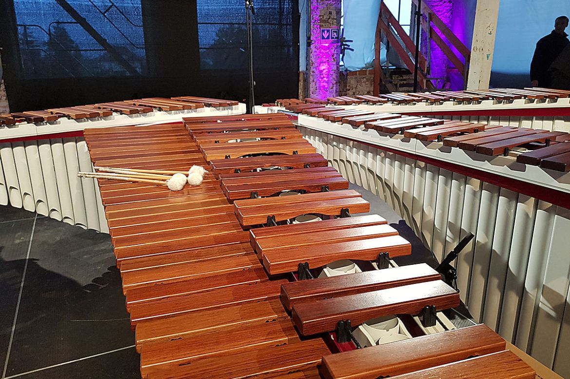 Marimbas des WAVE QUARTET
