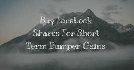 Buy Facebook stocks for Short term gains