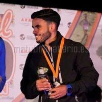 Álvaro Escuela, en lo más alto del podio en El Hierro, categoría Junior