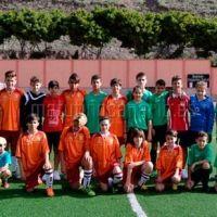 Resumen de la jornada de fútbol base en La Gomera