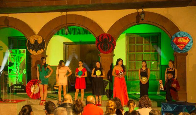 Candidatas a Reina del Carnaval de San Sebastián 2017 1