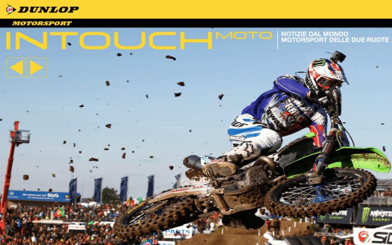 """Leggi la rivista """"In Touch"""" - Dunlop di nuovo al comando"""