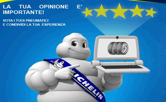 Dai le stelle ai tuoi pneumatici Michelin!