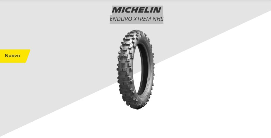 Nuovo MICHELIN ENDURO XTREM NHS