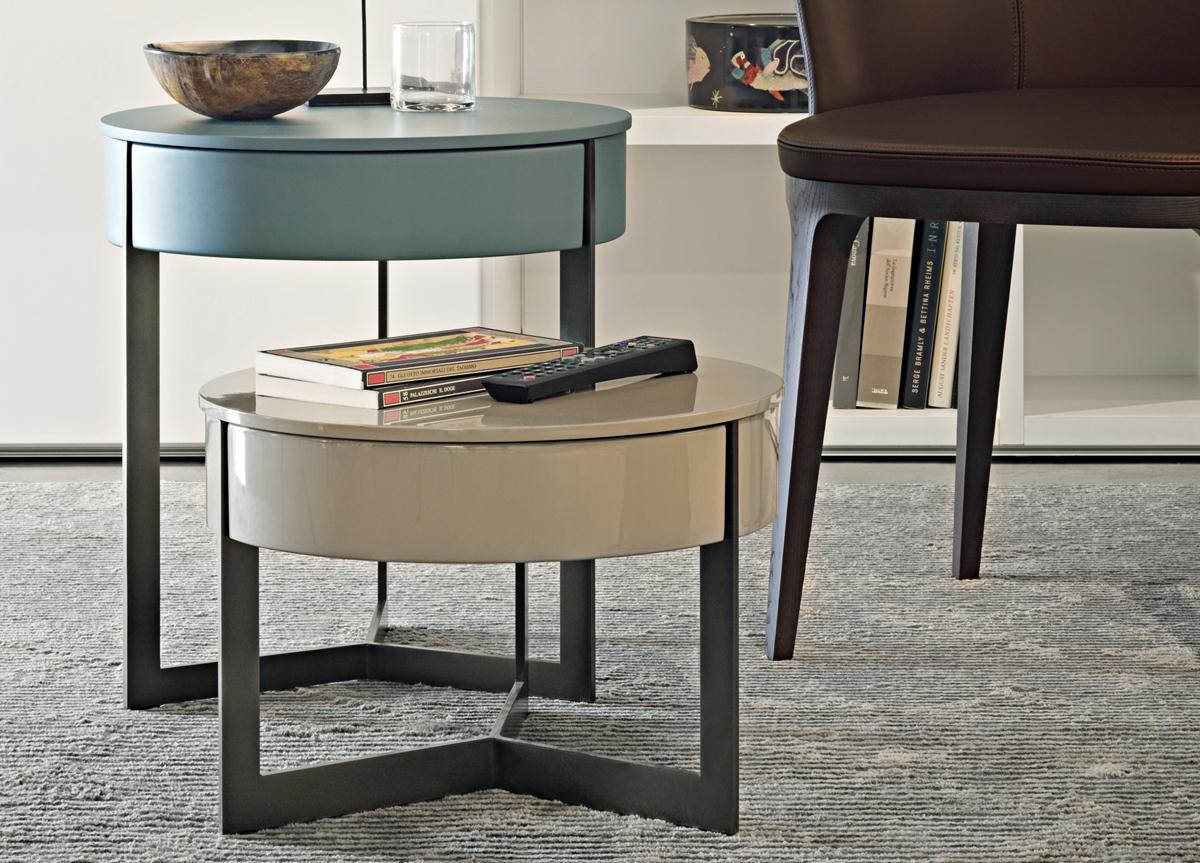 Lema Sign Coffee Side Table With Drawer Lema Furniture Italian Furniture