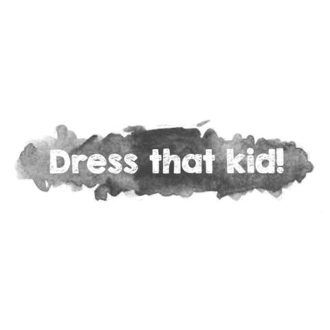 Dress that kid #5: Maroon
