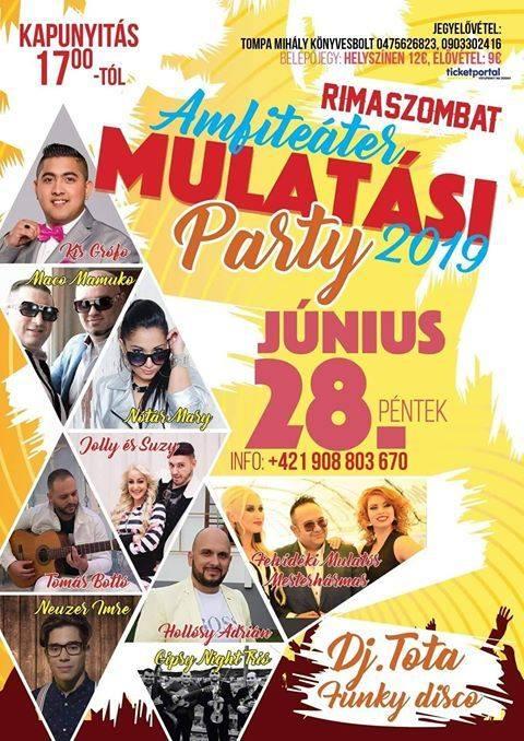 Mulatási party 2019