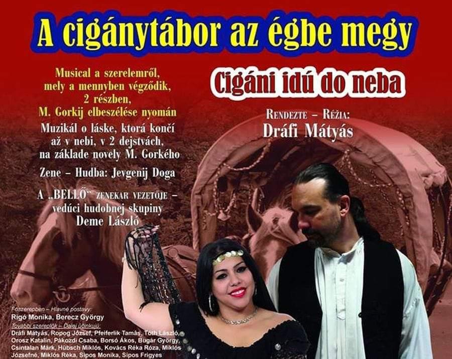 A cigánytábor az égbe megy - Musical Rimaszombatban
