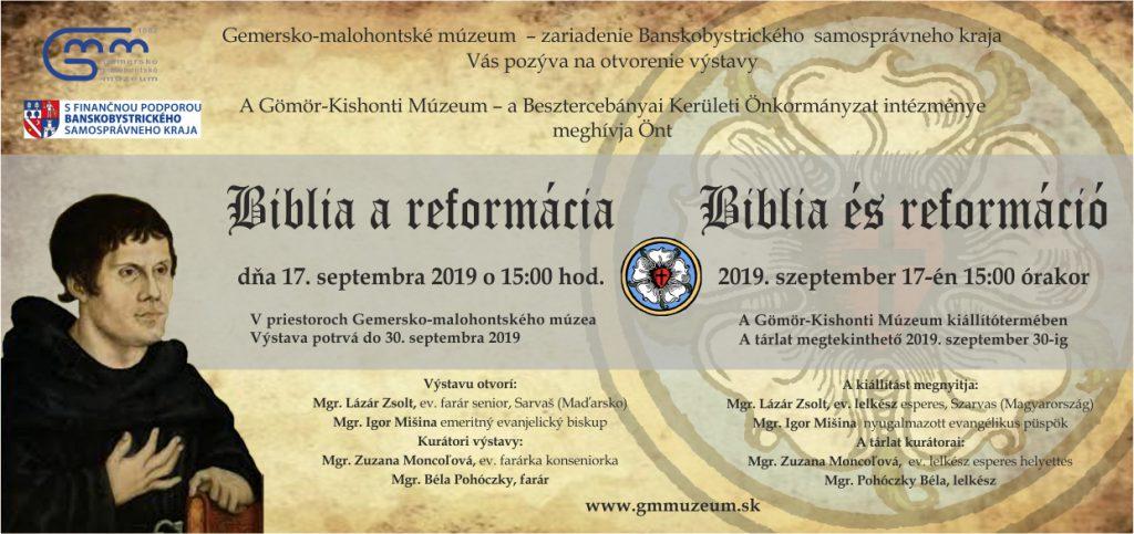Biblia és reformáció
