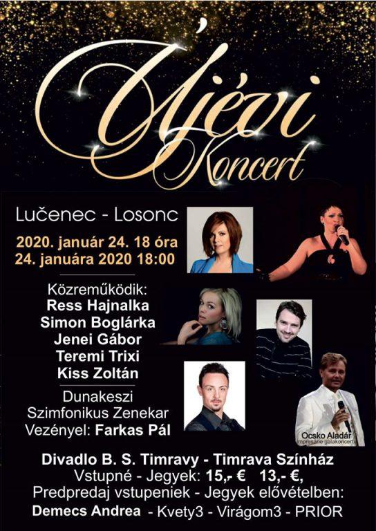 Újévi koncert Losoncon