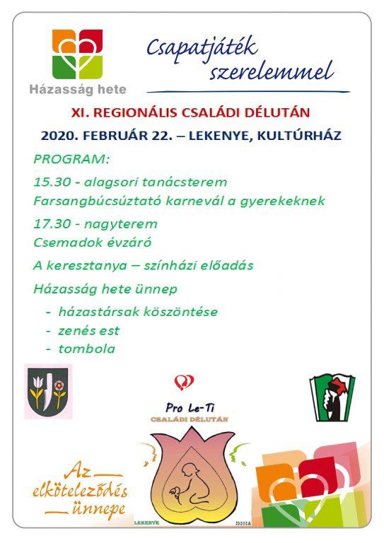XI. Regionális családi délután Lekenyén