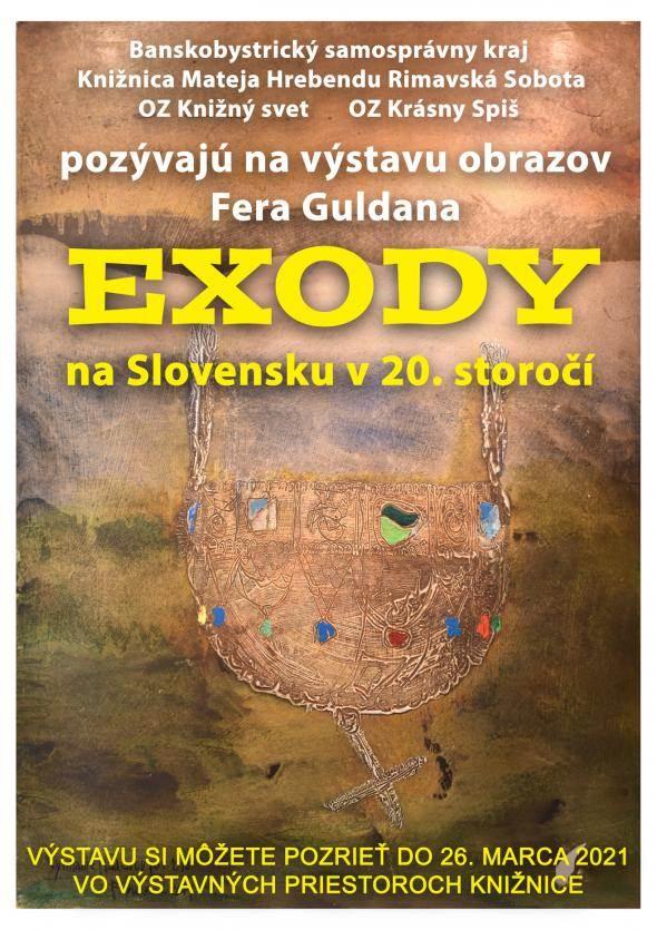 Fero Guldan kiállítása a Matej Hrebenda Könyvtárban