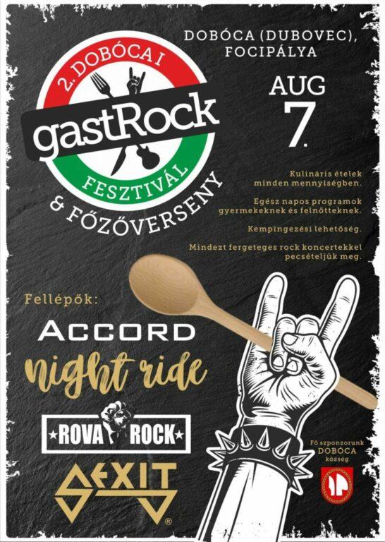 Dobócai gastRock fesztivál & főzőverseny