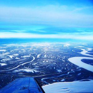 Bird's Eye View of the Arctic