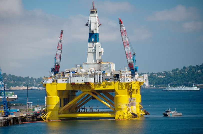 Arctic Oil - Shell's rig