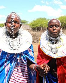 Maasai Women Wear and Sell Beautiful Handmade Jewelry