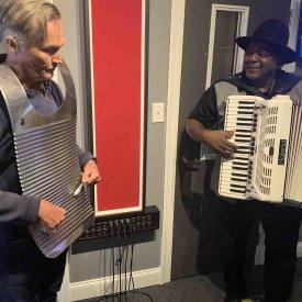 Zydeco Music Studio Visit