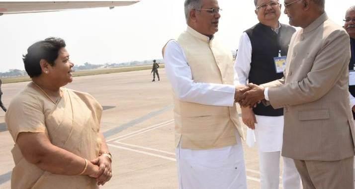 president-kovind-baghel-see-off