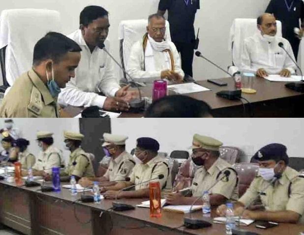 tamradhwaj-sahu-police-meeting-12-aug-2020