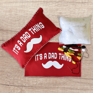 Father's Day Lumbar Pillow Kit