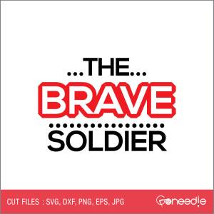 Memorial Day Cut File - The Brave Soldier
