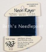 Neon Rays Cornflower Blue N139