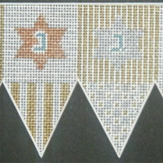 Stars and Stripes Dreidel (3d)