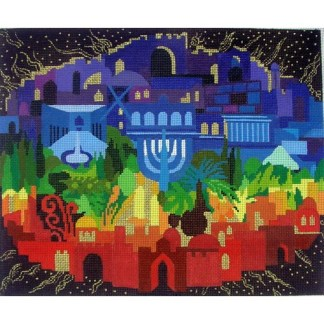 Jerusalem of Light Tallit