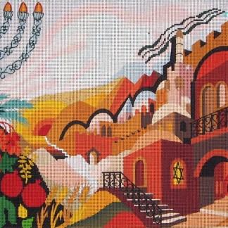 Jerusalem Forever Tallit