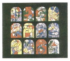 Chagall Windows Black Tallis
