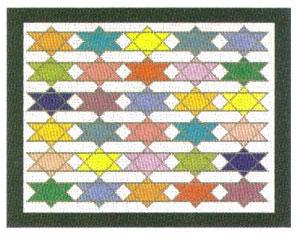 Multicolor Stars Tallis