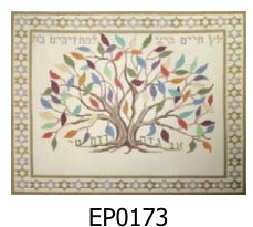 Tree of Life for those who grasp it Tallit