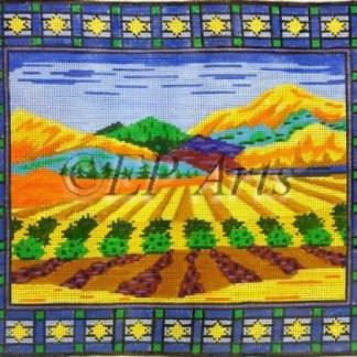 Israeli Landscape Tallit