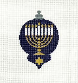 Ornament- Chanukah Menorah