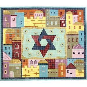 Star of David with Jerusalem Tallit