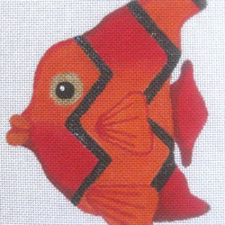 Red Striped Fish