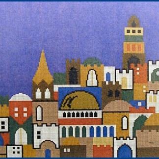 Jerusalem Blue Sky Tallit