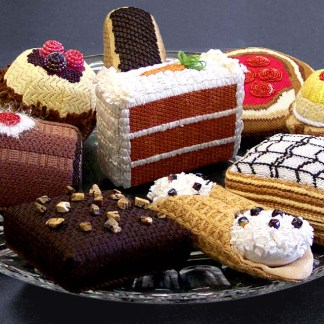 3-D Pastries- Delicious and no calories