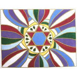 Star of David Tallit Multicolor