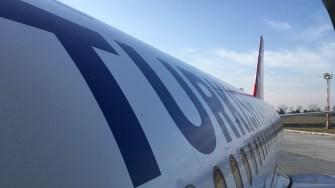 Aeronavă Turkish Airlines. FOTO Adrian Boioglu