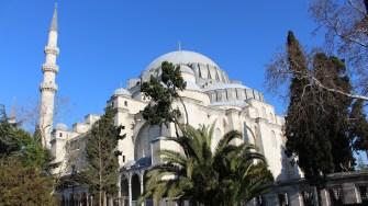 Moscheea lui Suleiman. FOTO Adrian Boioglu