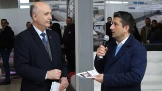 Primarul Decebal Făgădău și președintele CCINA Constanța, Dănuț Jugănaru. FOTO Adrian Boioglu