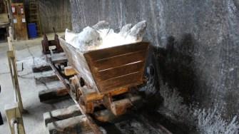 Vagonet de transportare a sării. FOTO Adrian Boioglu