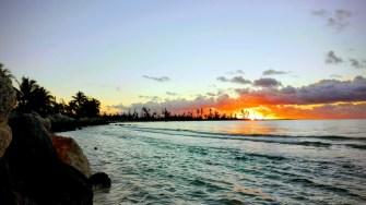 Este păcat să nu vedeți și un răsărit de soare din ocean. FOTO Cătălin SCHIPOR
