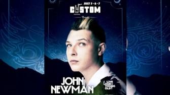 John Newman vine la Custom Reșița