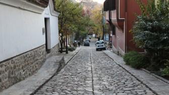 Strad[ din ora;ul bulgăresc Plovdiv. FOTO Adrian Boioglu
