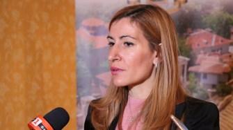 Nikolina Angelkova, ministrul Turismului din Bulgaria. FOTO Adrian Boioglu
